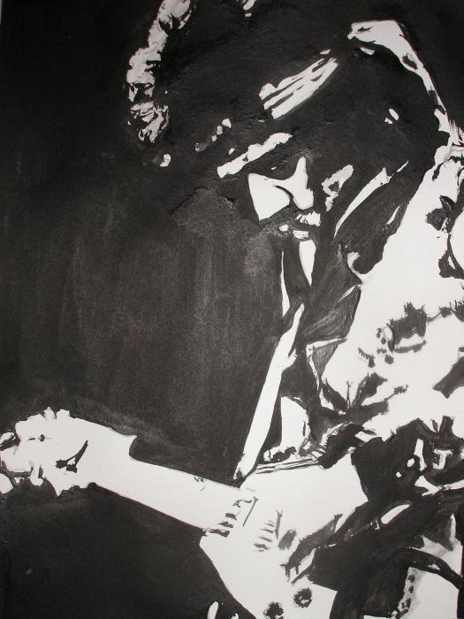 Jimi Hendrix by Coffee58